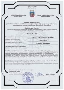 Ultramarin Services Licence